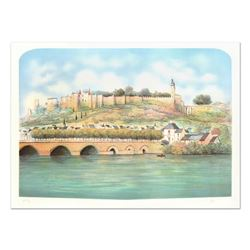 "Rolf Rafflewski, ""Seine "" Limited Edition Lithograph, Numbered and Hand Signed."