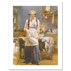 "Pino (1939-2010) ""Warm Memories"" Limited Edition Giclee. Numbered and Hand Signed; Certificate of Au"