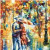 """Image 2 : Leonid Afremov (1955-2019) """"Rainy Evening"""" Limited Edition Giclee on Canvas, Numbered and Signed. Th"""