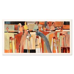 "Yuri Tremler, ""Girlfriends"" Limited Edition Serigraph by Yuri Tremler, Hand Signed with Certificate"