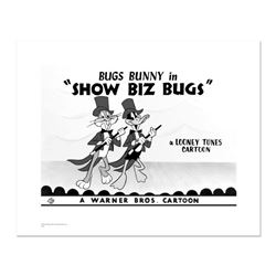 """Show Biz Bugs -Both Dancing"" Numbered Limited Edition Giclee from Warner Bros. with Certificate of"