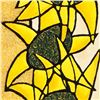 """Image 2 : Avi Ben-Simhon, """"Sunflower Trio"""" Limited Edition Serigraph, Numbered and Hand Signed with Certificat"""