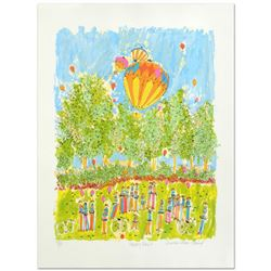 """Happy Days"" Limited Edition Serigraph by Susan Pear Meisel, Numbered and Hand Signed by the Artist."