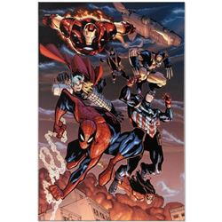 """Marvel Comics """"Amazing Spider-Man #648"""" Numbered Limited Edition Giclee on Canvas by Humberto Ramos"""