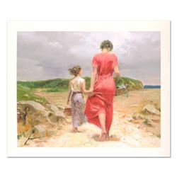 "Pino (1939-2010) ""Homeward Bound"" Limited Edition Giclee. Numbered and Hand Signed; Certificate of A"