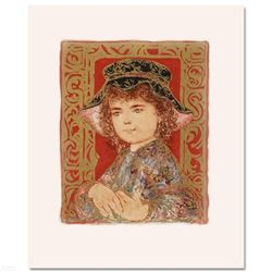 """Athena"" Limited Edition Lithograph by Edna Hibel, Numbered and Hand Signed with Certificate of Auth"