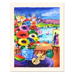 "Shlomo Alter, ""Still Life"" Limited Edition Serigraph, Numbered and Hand Signed with Certificate of A"