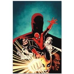 "Marvel Comics ""Shadowland #1"" Numbered Limited Edition Giclee on Canvas by John Cassaday with COA."