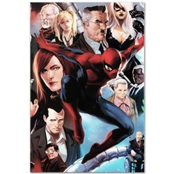 "Marvel Comics ""Amazing Spider-Man #645"" Numbered Limited Edition Giclee on Canvas by Marko Djurdjevi"
