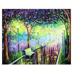 "Svyatoslav Shyrochuk- Original Oil on Canvas ""Far Away From Home"""