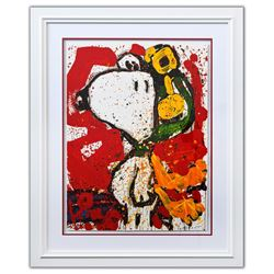"Tom Everhart- Hand Pulled Original Lithograph ""To Remember"""