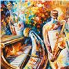 """Image 2 : Leonid Afremov (1955-2019) """"Bottle Jazz I"""" Limited Edition Giclee on Canvas, Numbered and Signed. Th"""
