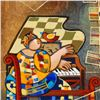 """Image 2 : Dorit Levi, """"The Grand Piano"""" Limited Edition Serigraph, Numbered and Hand Signed with Certificate o"""