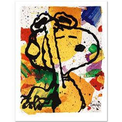 """Salute"" Limited Edition Collectible Fine Art Lithograph by Renowned Charles Schulz Protege Tom Ever"