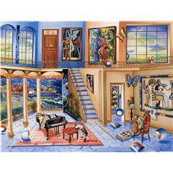 "Alexander Astahov- Original Giclee on Canvas ""Old Eygpt"""