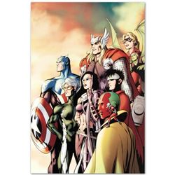 "Marvel Comics ""I Am an Avenger #5"" Numbered Limited Edition Giclee on Canvas by Alan Davis with COA."