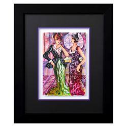 "Patricia Govezensky- Original Watercolor ""Dylla & Jennifer"""