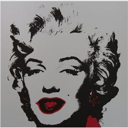 Andy Warhol- Silk Screen  Golden Marilyn 11.36
