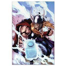 "Marvel Comics ""Thor: Heaven and Earth #3"" Numbered Limited Edition Giclee on Canvas by Agustin Padil"