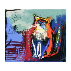 Kaplun, Limited Edition on Canvas, Numbered Inverso and Hand Signed with Letter of Authenticity.
