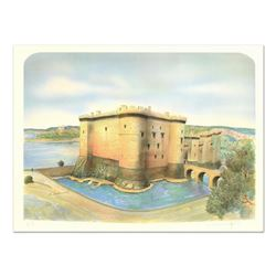 "Rolf Rafflewski, ""Chateau de Tarascon"" Limited Edition Lithograph, Numbered and Hand Signed."