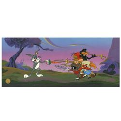 "Chuck Jones ""Foiled Again"" Hand Signed, Hand Painted Limited Edition Sericel."