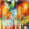 """Image 2 : Leonid Afremov (1955-2019) """"Mirror Streets"""" Limited Edition Giclee on Canvas, Numbered and Signed. T"""