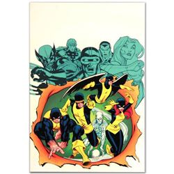 "Marvel Comics ""X-Men Giant-Size #1"" Numbered Limited Edition Giclee on Canvas by Ed McGuinness with"