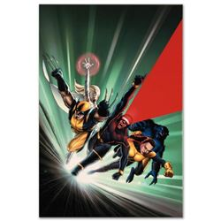 "Marvel Comics ""Astonishing X-Men #1"" Numbered Limited Edition Giclee on Canvas by John Cassaday with"