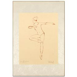 "Edna Hibel (1917-2014), ""Pirouette"" Limited Edition Lithograph, Numbered and Hand Signed with Certif"