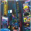 "Image 1 : Ugo Nespolo ""CITY BY NIGHT"" Original Serigraph"