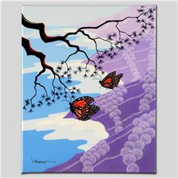 """Monarchs"" Limited Edition Giclee on Canvas by Larissa Holt, Numbered and Signed. This piece comes G"