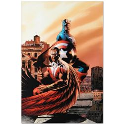 Marvel Comics  Captain America & The Falcon #5  Numbered Limited Edition Giclee on Canvas by Steve E