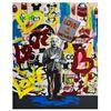 "Image 1 : Nastya Rovenskaya- Mixed Media ""Einstein's Placard"""