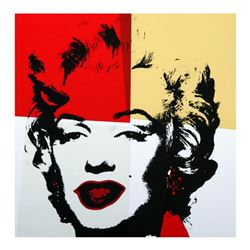 Andy Warhol  Golden Marilyn 11.38  Limited Edition Silk Screen Print from Sunday B Morning.