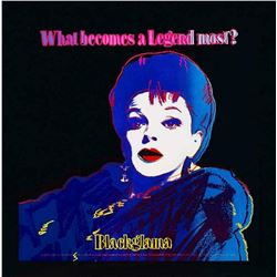 Andy Warhol- Screenprint in colors  Blackglama (Judy Garland)