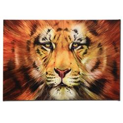 Red Liger  Limited Edition Giclee on Canvas by Martin Katon, Numbered and Hand Signed. This piece c