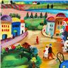"""Image 2 : Shlomo Alter, """"Spring Day"""" Limited Edition Serigraph, Numbered and Hand Signed with Certificate of A"""