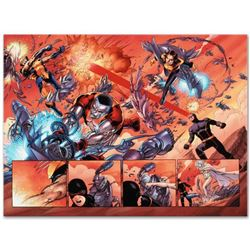 "Marvel Comics ""Astonishing X-Men N12"" Numbered Limited Edition Giclee on Canvas by John Cassaday wit"