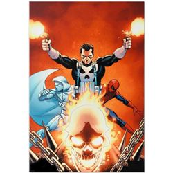 "Marvel Comics ""Shadowland #3"" Numbered Limited Edition Giclee on Canvas by John Cassaday with COA."