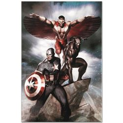 Marvel Comics  Captain America: Hail Hydra #3  Numbered Limited Edition Giclee on Canvas by Adi Gran