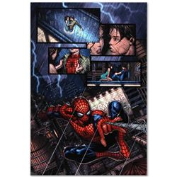 "Marvel Comics ""Ultimatum #1"" Numbered Limited Edition Giclee on Canvas by David Finch with COA."
