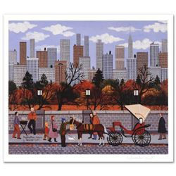 "Jane Wooster Scott, ""Manhattan Colors"" Hand Signed Limited Edition Lithograph with Letter of Authent"