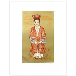 """Sun Ming Tsai of Beijing"" Limited Edition Lithograph by Edna Hibel (1917-2014), Numbered and Hand S"