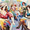 "Image 2 : Michael Kerman, ""Cafe"" Limited Edition Serigraph, Numbered and Hand Signed with Certificate of Authe"