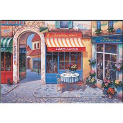 "Alexander Borewko- Original Giclee on Canvas ""A New Day"""