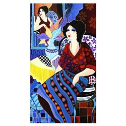 "Patricia Govezensky- Original Acrylic on Canvas ""Ada"""