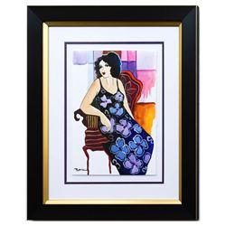 "Patricia Govezensky- Original Watercolor ""Bianca"""