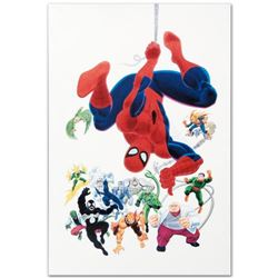 "Marvel Comics ""Marvel Visionaries"" Numbered Limited Edition Giclee on Canvas by John Romita Sr. with"