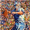 """Image 2 : Paul Blaine Henrie (1932-1999), """"Roger Staubach"""" Limited Edition Serigraph, Numbered and Hand Signed"""